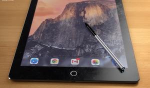 iPad Pro: Grafikdesigner entwirft sinnvolles Stylus-Konzept - schmaler Stift mit verhältnismäßig vielen Funktionen