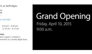 Apple Watch-Stores offiziell für die Weltmetropolen Paris, London und Tokio angekündigt