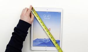 iPad Pro: So würde das Riesen-Tablet in den Händen der Anwender aussehen