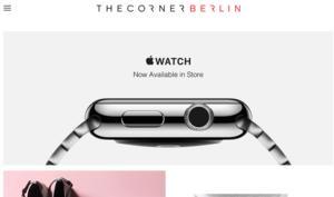 Apple Watch: Corner in Berlin hat Smartwatches auf Lager