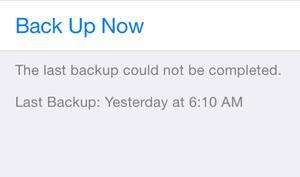 Probleme mit dem iPhone-Backup: iOS-Beta kann die Lösung sein