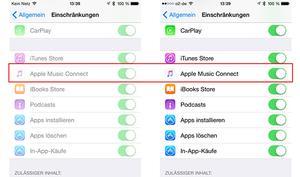 Apple Music: Kein Connect dafür Schnellzugriff auf Playlisten - so geht's