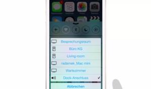 iOS 8 Video-Tipp: Musik auf verschiedene Wiedergabe-Geräte streamen – so geht's