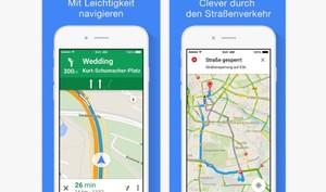 Google Maps für iOS: Google spendiert seinem Kartenmaterial 3 willkommene Funktionen