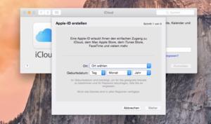 OS X 10.10 Yosemite Video-Tipp: Apple ID anlegen – so geht's