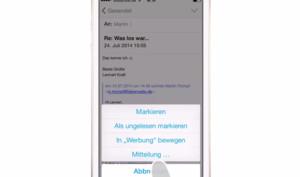 iOS 8 Video-Tipp: Benachrichtigung bei E-Mail-Eingang aktivieren – so geht's