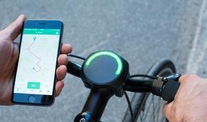 SmartHalo soll aus normalen Fahrrädern Smartbikes machen
