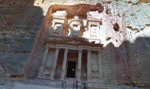 Google Maps: 3D-Tour durch die geheimnisvolle Felsenstadt Petra