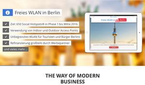 Berlin: Großer WLAN-Netzausbau bis Sommer 2016