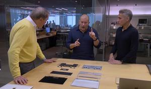 Apple Campus: Rundgang in Jonathan Ives Design-Studio