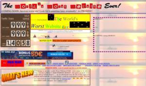 Die 13 hässlichsten Webseiten der Welt