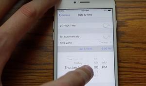 Achtung: Diese Datumseinstellung killt euer iPhone