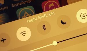 So wirkt Night Shift in iOS 9.3