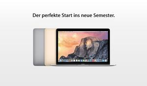 """Back to Campus""-Aktion: Apple-Hardware satt mit Bildungsrabatt"