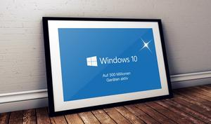 Windows 10 auf 300 Millionen Geräten, Microsoft hilft nach