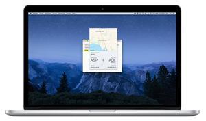 So einfach rufst du Fluginformationen am Mac ab