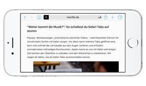 So befreit dich der Lesemodus am iPhone von lästiger Werbung