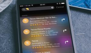 Mit Pizza nach Pizzeria suchen? iOS-Spotlight-Suche akzeptiert Emoji