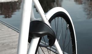 Smartphone-Fahrradschloss verschließt sich selbst