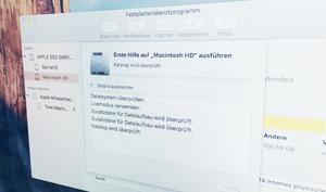 Partitionieren mit Festplattendienstprogramm nicht möglich? So reparierst du deine Mac-Festplatte