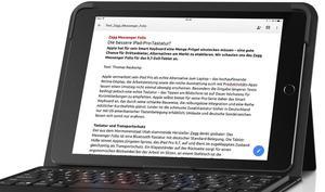 ZAGG Messenger Folio im Test: Die bessere iPad-Pro-Tastatur?