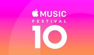 Apple Music Festival 10: Das sind die Stargäste