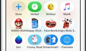 iOS 10: Die besten Sticker und Apps für iMessage