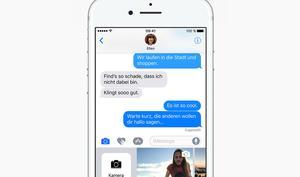 iOS 10: So können Sie vor dem Versenden in Bilder zeichnen