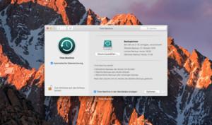 macOS Sierra: So schalten Sie die automatische Datensicherung von Time Machine ab