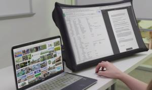 Wahnsinn: 24-Zoll-Display zum Zusammenfalten wiegt nur ein Kilogramm
