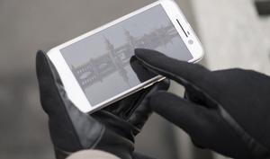Praktisches Winteraccessoire: Lederhandschuhe mit Touch-Funktion