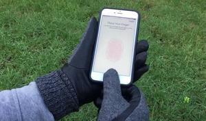 Handschuhe mit Fingerabdruck für Touch ID ohne kalte Hände