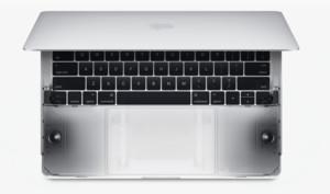 MacBook Pro mit Touch Bar: Lautsprechergrill ist lediglich Kosmetik