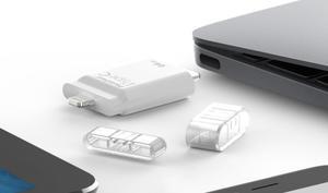 Der USB-Stick für das neue MacBook Pro und iOS-Geräte