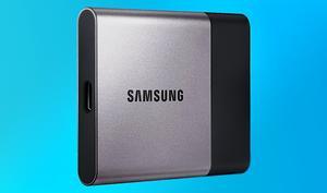 Jetzt günstiger zu haben: Samsung Portable SSD T3 500 GB