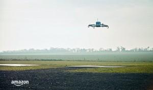 Amazon liefert erstes Paket via Drohne aus