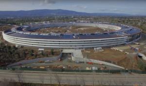 4K-Drohnenflug über den fast fertigen Apple Campus 2 zeigt weitere Details