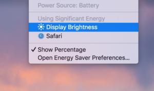 macOS 10.12.3 Beta warnt vor zu hellem Display