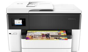 Großformatig in A3 drucken: HP Officejet Pro 7740 reduziert