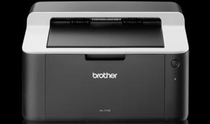 Kleiner Laserdrucker für Schwarz-Weiß-Arbeiten reduziert