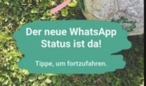 WhatsApp will alten Status wiederbeleben