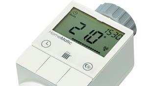 Energiesparen bei der Heimautomatisierung: HomeMatic Funk-Heizkörperthermostat reduziert