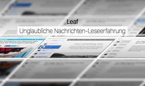 RSS-Reader Leaf für Mac für kurze Zeit zum halben Preis