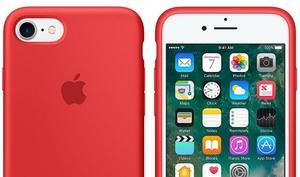 Offizielle Silikon-Schutzhülle für iPhone 7 von Apple im Angebot