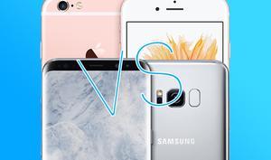 Gibt's doch gar nicht: Apples iPhone 6s schlägt Samsungs Galaxy S8