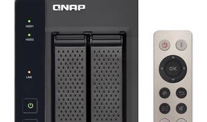 Fernbedienung fürs NAS? QNAP-Netzwerkspeicher als Multimediazentrale günstiger