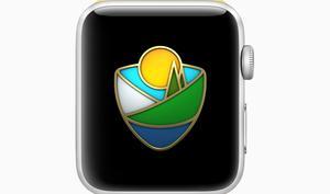 Apple Watch: Neue Herausforderung und Sticker für die National Park Foundation