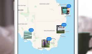 So cool ist die Foto-Karte auf dem iPhone