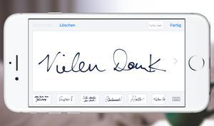 iMessage: So entfernen Sie handgeschriebene Nachrichten aus den Vorlagen
