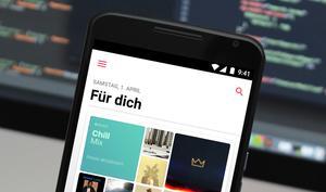 """Apple Music hört jetzt auf das """"OK Google""""-Kommando unter Android"""